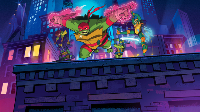 Rise of the Teenage Mutant Ninja Turtles Series – Full