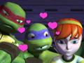 ¡El amor de Donatello por Abril es impresionante!