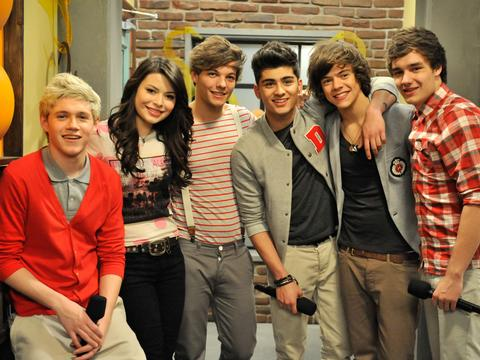 I One Direction ad iCarly