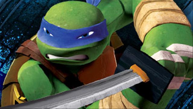 Leonardo Ninja Turtles Tmnt Characters Nick Com