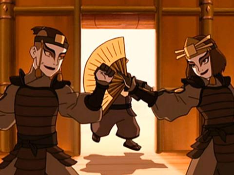 AVATAR | S1 | Episodio 04 | Avatar - As Guerreiras de Kyoshi