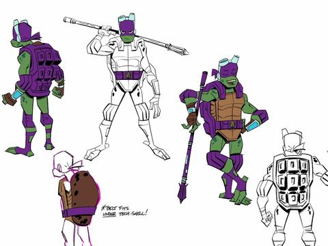 """Rise of the Teenage Mutant Ninja Turtles: """"Chat with the Minds Behind Rise"""""""