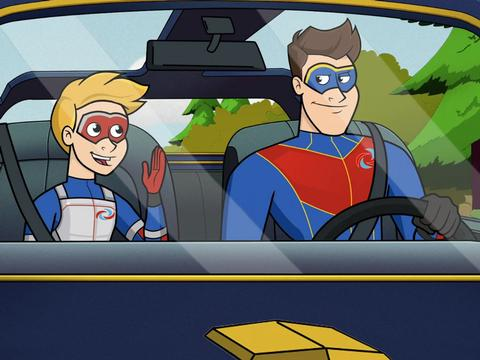 "The Adventures of Kid Danger: ""The Road Trip"""