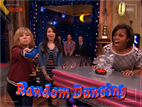 Random Dancing with the First Lady!