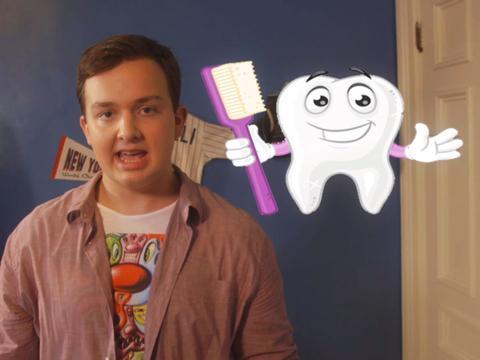 Noah's Toothbrush Trick!