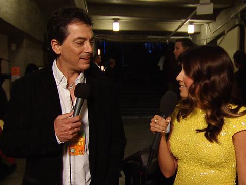 Kids' Choice Awards 2013: Backstage With Scott Baio