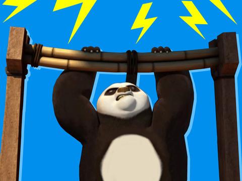 KUNG FU PANDA | SHORT | Kung Fu Panda - 5 Barras para PO