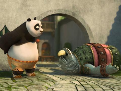 "Kung Fu Panda: ""Rhino's Revenge: No Love For Po"""