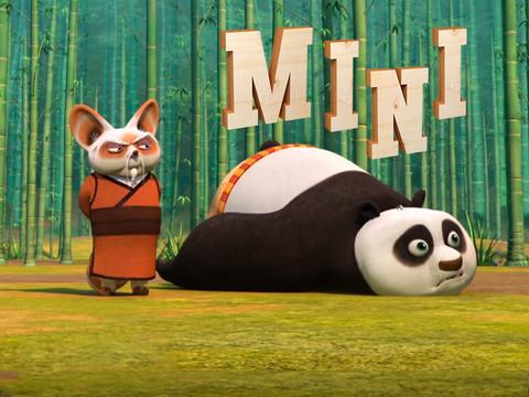 KUNG FU PANDA | SHORT | Kung Fu Panda - Po, el dragón mágico