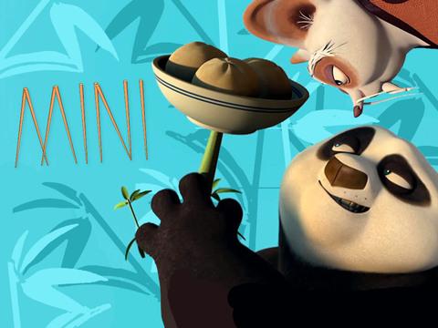 KUNG FU PANDA - Po, Haciendo de las Suyas