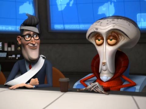 "Monsters Vs. Aliens: ""Welcome to Area Fifty-Something: Kicked to the Curb"""