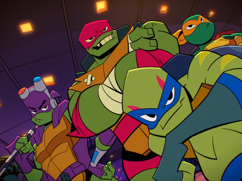 RISE OF THE TMNT | S1 | Episodio 08 | La pelea más larga / ¡Hipno! Parte dos