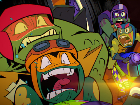 "Rise of the Teenage Mutant Ninja Turtles : ""The Purple Jacket/Pizza Pit"""