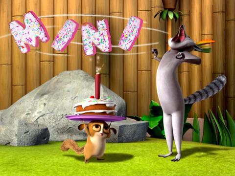 "Penguins of Madagascar: ""Julien's Birthday"""