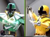 "Power Rangers Super Samurai: ""Trading Places: Green and Yellow"""