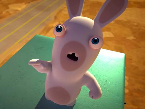 "Rabbid Obsession: ""To the Moon"