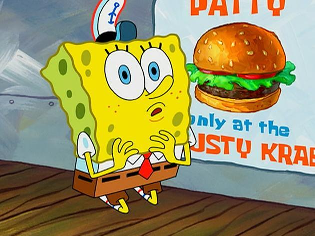 "SpongeBob SquarePants: ""Never-Before-Seen Spongebob!"""