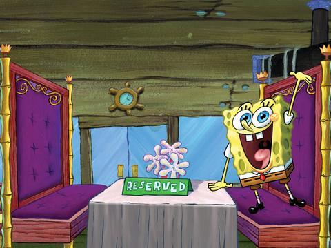 "Spongebob Squarepants: ""Elegant Eatery"""