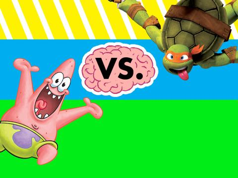 Face Off: Patrick vs. Mikey!