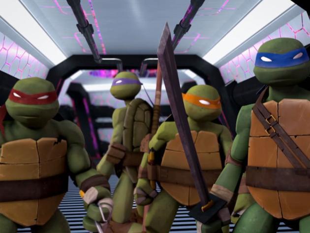 Ţestoasele Ninja - Ascensiunea ţestoaselor: Partea a II-a