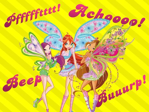 Winx Fun with Sound Effects!
