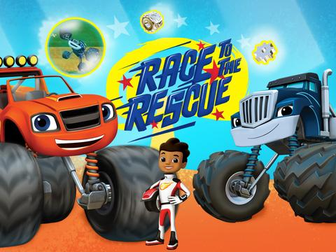 Blaze: Race to the Rescue!