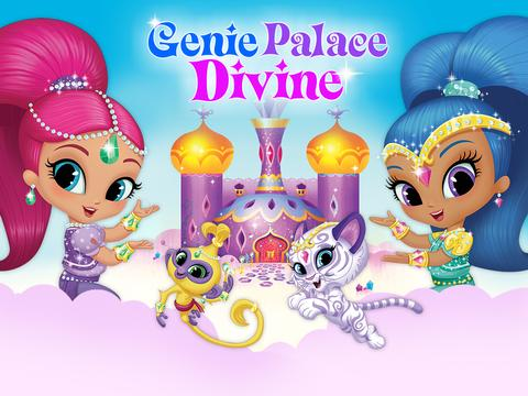 Shimmer and Shine:  Genie Palace Divine