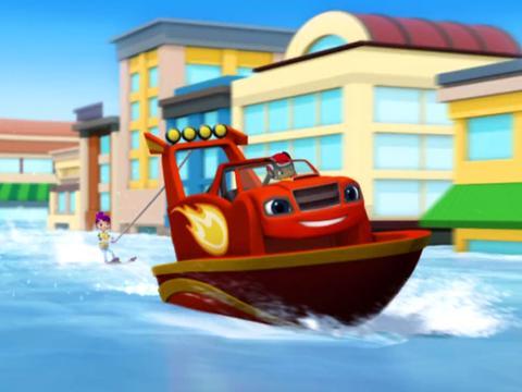 Blaze: Speedboat Blaze
