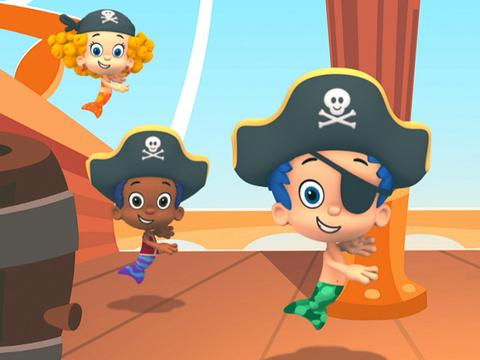 Bubble Guppies: Pirates Are We
