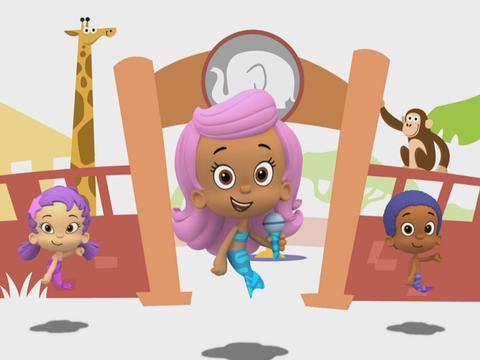 Bubble Guppies: At the Zoo!