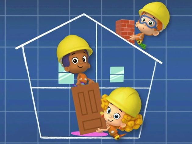 Bubble Gupupies: Build Me a Building Song