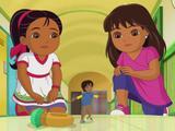 Dora's Ancient Treasure and Magic Ring