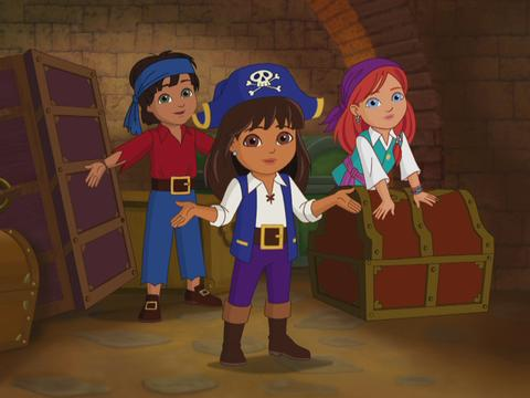 Dora and Friends: Into the City: Make a Pirate Ship Song