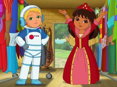 Dora and Friends: Dress Up Music Video