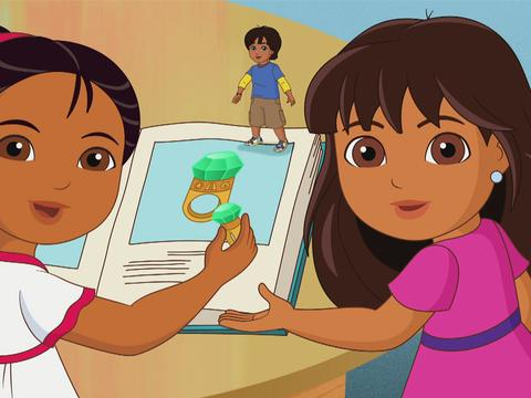 Count it Up: Dora and Friends Match the Glyphs