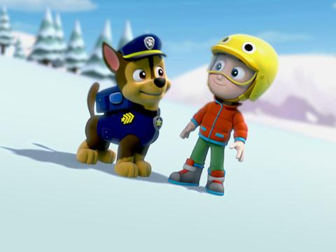 PAW Patrol: Slippery Slopes