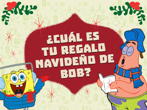 Bob Esponja: ¿Cuál es tu regalo navideño de Bob?