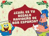 Bob Esponja: ¿Cuál es tu regalo navideño de Bob Esponja?