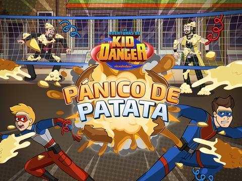 Las aventuras de Kid danger: Pánico de Patata