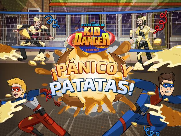 Las Aventuras de Kid Danger: ¡Pánico y patatas!