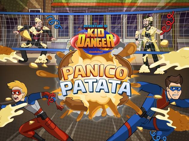 Le avventure di Kid Danger: Panico Patata