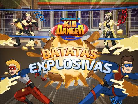 Aventuras de Kid Danger: Batatas explosivas