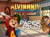 Alvinnn!!! and the Chipmunks: Paper Pilot