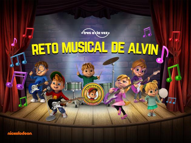 Reto Musical de Alvin