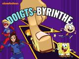 NICKELODEON : Doigts-byrinthe