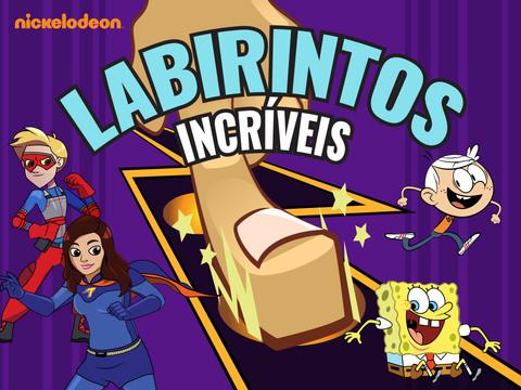 Nickelodeon: Labirintos incríveis