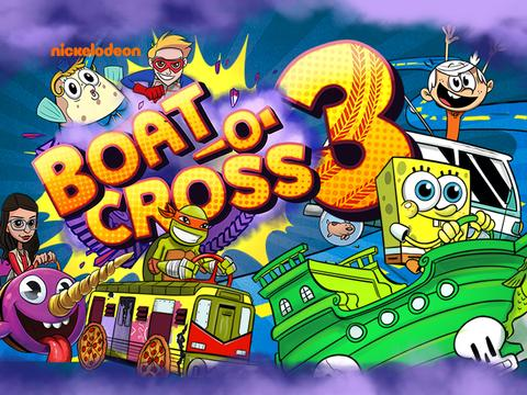 Nickelodeon: Boat-o-Cross 3