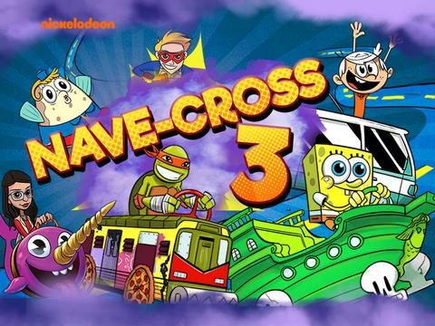 Nickelodeon: Nave-cross 3