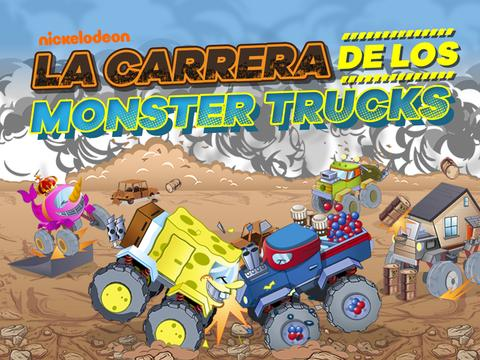 Nickelodeon: La carrera de los Monster Trucks