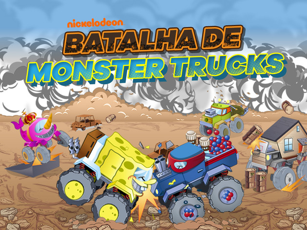 Nickelodeon: Batalha de Monster Trucks